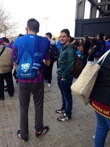 Levante Fans in Almeria (Foto: José Mocholi/PD-direkt)