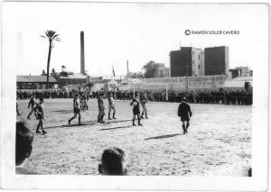 """Zur Gründungszeit  spielte Levante (damals Llevant FC) in Strandnähe im Stadion im Campo Malvarrosa, dass das """"kleine Maracaná genannt wurde (Foto: PDdirekt/Ramón Soler Cavero)"""