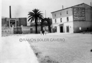 Das alte Station der Levante UD in Vallejo, nahe dem Barrio del Carmen und der Innenstadt am ehemaligen Ufer der Turia  (Foto:PDdirekt/Ramón Soler Cavero)
